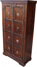 Cupboard, wardrobe, solid wood, colonial style - model 5