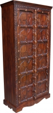 Cupboard, wardrobe, solid wood, colonial style - Model 7