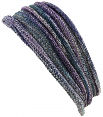 Magic Hairband, Dread Wrap, Scarf, Headband - Hairband purple