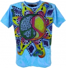 Mirror T-Shirt - Peace / blau