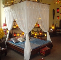 Oriental canopy1001 night, bed canopy, mosquito net, mosquito net..