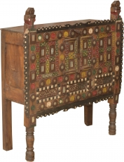 Traditional historical Orissa chest of drawers with many ornament..