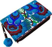 Ethno Wallet Chiang Mai - turquoise