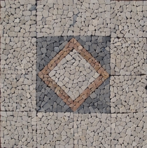 Square mosaic ensemble (120*120 cm) - Design 2