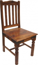 Chair in colonial style R444 light - model 6