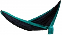 Travel hammocks made of parachute fabric - blue