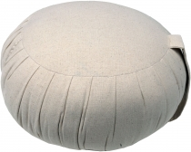 Round one-coloured meditation cushion Yoga cushion, seat cushion,..