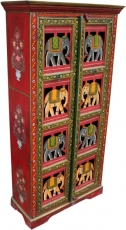 Cupboard, wardrobe with elephant ornaments - model 4