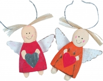 Guardian angels, Christmas angels, Christmas tree decorations - 3..