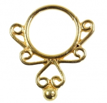 Septum Ring, Nasenring, Nasenpiercing, Mini Ohrring, Ohrpiercing