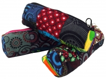 Ethno pencil case, patchwork pencil case