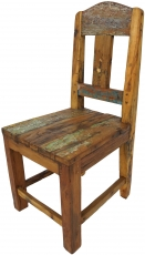 Chair made of recycled teak - model 12