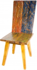 Chair made of recycled teak - model 5