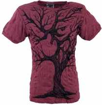 Sure T-Shirt OM Tree - bordeaux