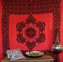Wall hanging, wall cloth, mandala, bedspread Celtic - design 18