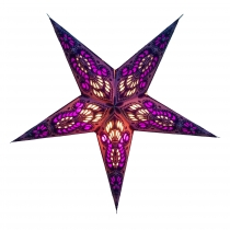 Foldable Advent Starlight Paper Star, Christmas Star 40 cm - Meno..