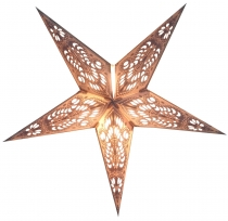 Foldable Advent light paper star, poinsettia 40 cm - Menor small ..