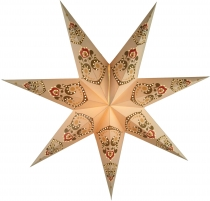 Foldable Advent Starlight Paper Star, Christmas Star Minea