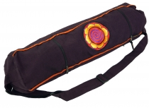 Yoga mat bag sun - dark wine