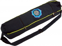 Yoga mat bag spiral - dark petrol
