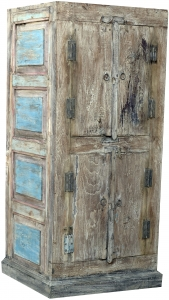 Cabinet, side cabinet, chest of drawers, wardrobe, solid wood, Vintage Look, Chabby chic - Model 12 - 122x58x43 cm
