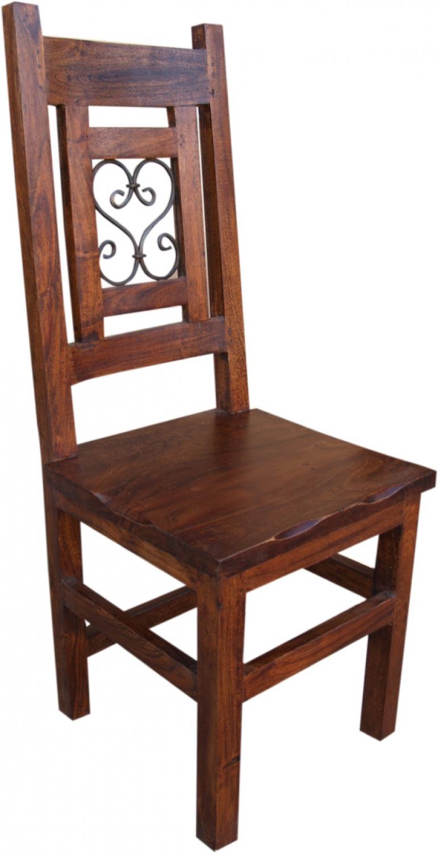 Stuhl Im Kolonialstil R628 Modell 12 110x43x43 Cm